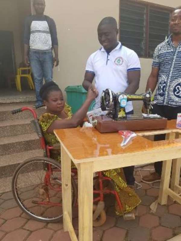 Asante-Akim South Supports PWDs