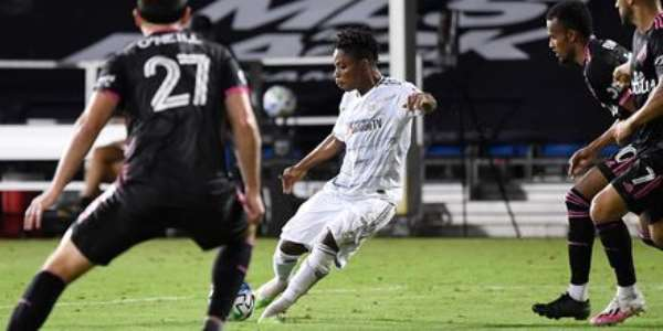 VIDEO: Watch Latif Blessing's Equalizer for LAFC In Big Win Against Seattle Sounders