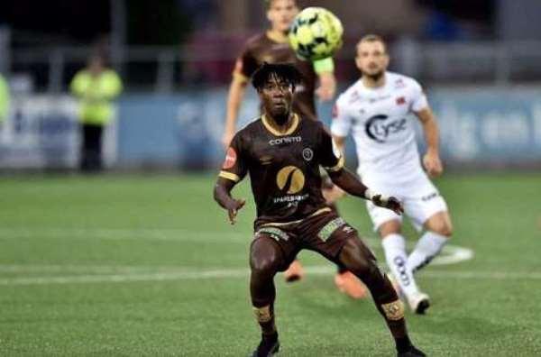 Ghana midfielder Isaac Twum stars for Mjøndalen IF in narrow defeat to Stabaek