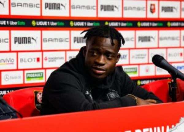 Ghana forward Kamaldeen Sulemana geared up to take French Ligue 1 by storm