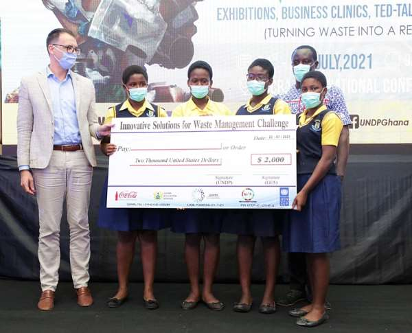 UNDP supports waste management innovations in schools