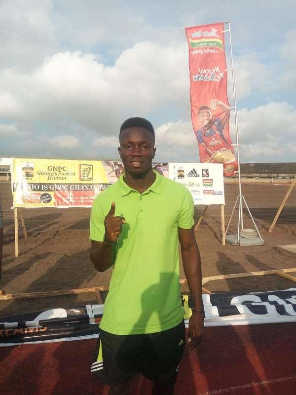 Barnabas Aggerh Runs Fastest At GNPC Ghana Fastest Human, Accra Open