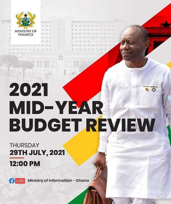 Watch Live: Finance Minister presents 2021 mid-year budget review