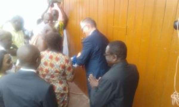 Fan Milk Ghana Unvels Plastics Sorting Centre