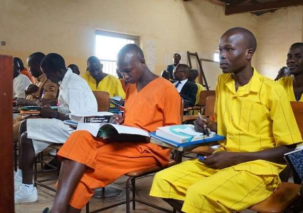Some African countries have started already giving education to prisoners
