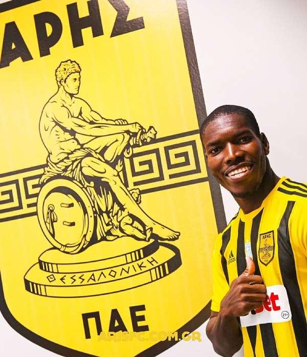 Ghana defender Lumor Agbenyenu pledges to give everything to help new club Aris