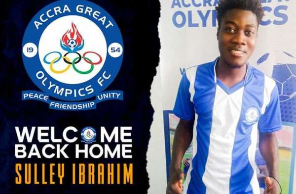 Great Olympics announce Ibrahim Sulley signing on a three-year deal
