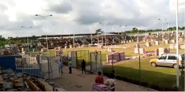 Kotoko New Board Inspect Adako Jachie Training Facility, Anane Boateng Stadium