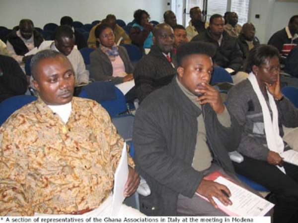 Reduce Passport Fees - Ghanaians in Italy