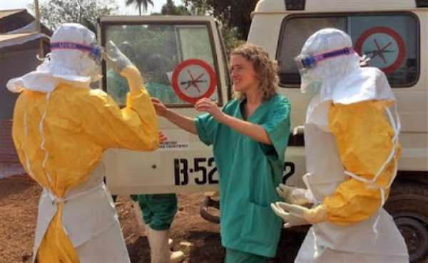 Ebola in West Africa: Health workers ready for action