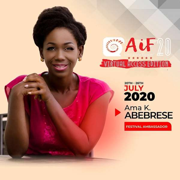 Ama K. Abebrese Appointed as the Festival Ambassador For Accra Indie Filmfest