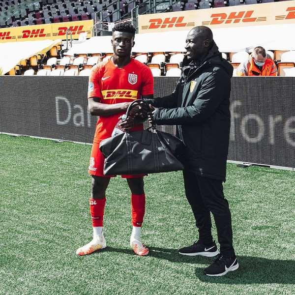 Nordsjaelland Winger Mohammed Kudus Wins MoTM Award Despite Defeat To FC Midtjylland