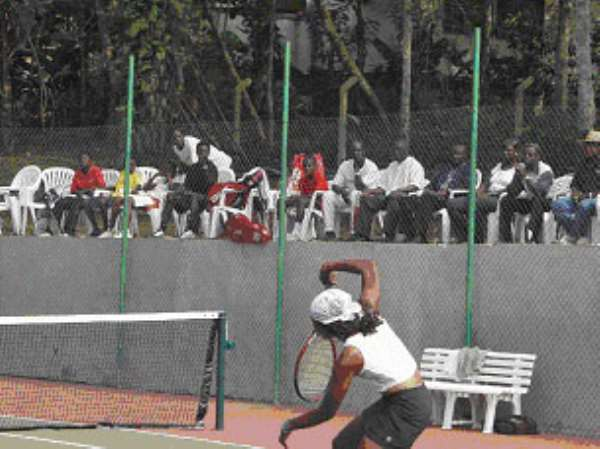 Women's Tennis in Ghana Does it exist?