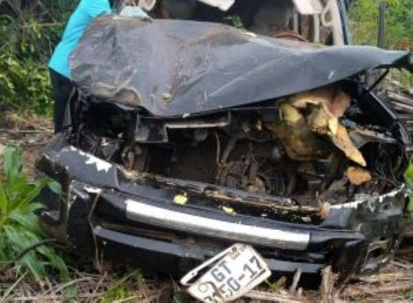 NPP's Ahafo Regional Chairman dies in gory accident