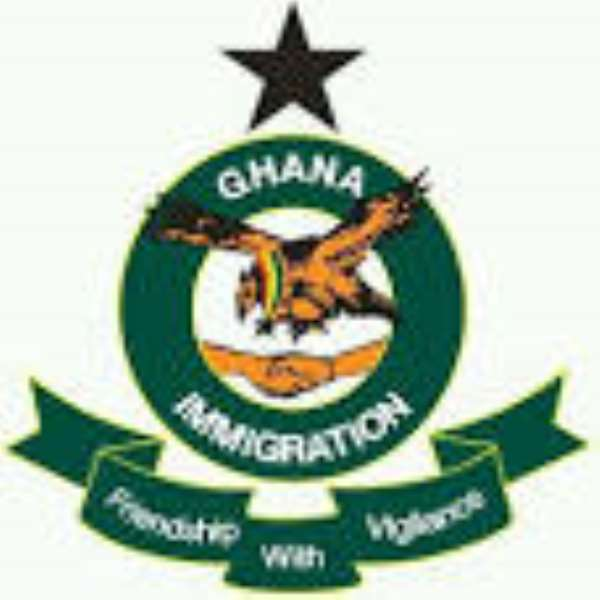 GIS interdicts four officers for collecting Ghc5 at Aflao border to allow illegal entry