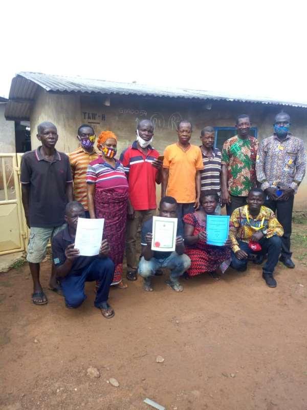 Nkonya Tayi: Co-operative Cocoa Farmers Receive Certificate To Operate