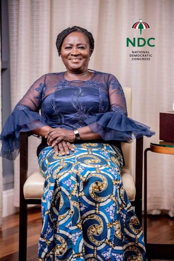 NDC Ho-Anlokordzi Branches Congratulate Jane Naana