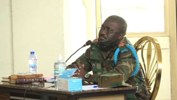 Ejura killings: 'Kneeling soldier' didn't shoot at protestors – 4BN Commander