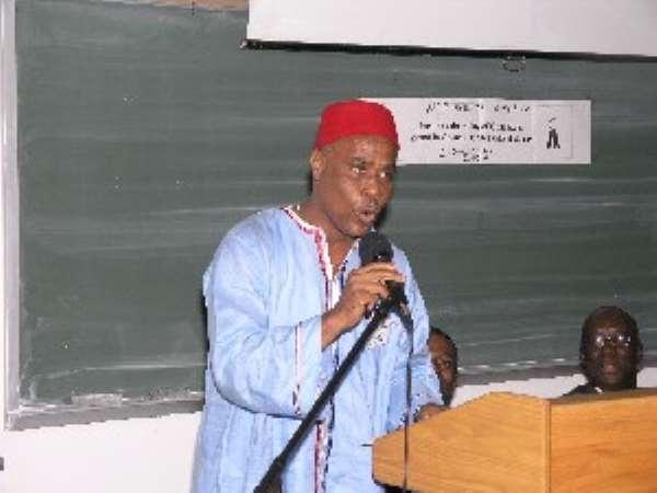Ghanaians In Newark Congratulate JOE HACKMAN