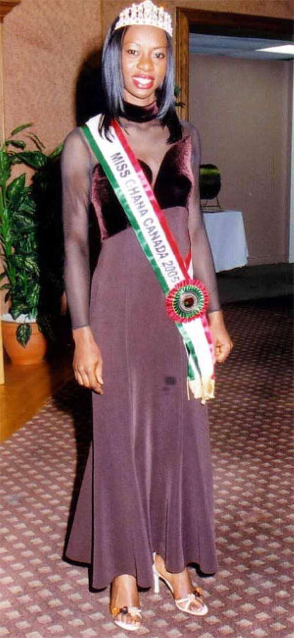 Diana Dickson is Miss Ghana-Canada 2004