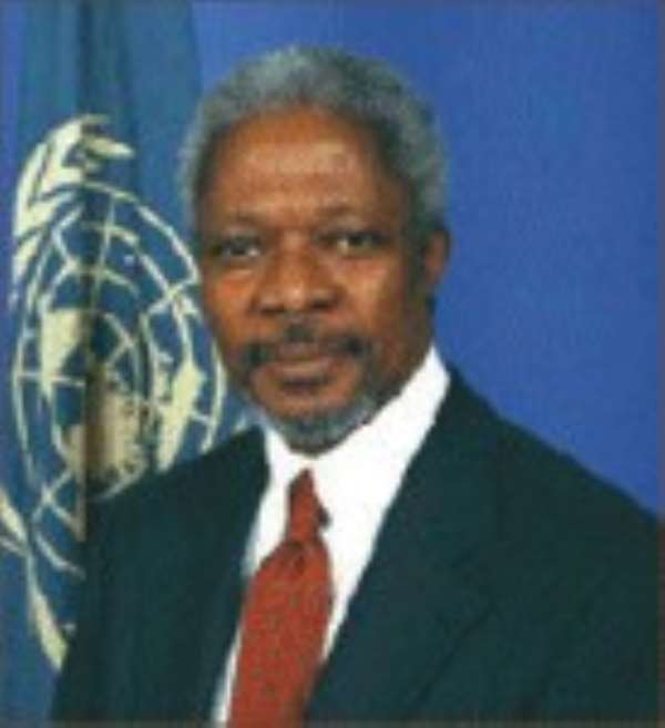 Annan Chosen To Speak In June
