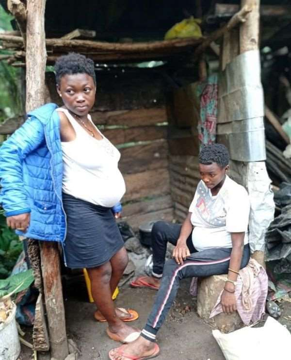 Check out twin sisters who got impregnated by same guy