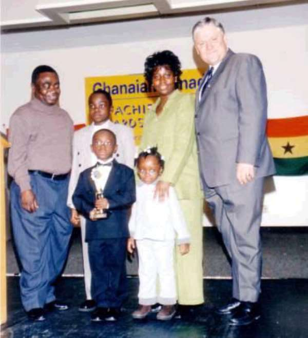 Ghanaian-Canadian Community Holds Achievers' Night