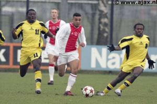 Ajax Beat Black Stars
