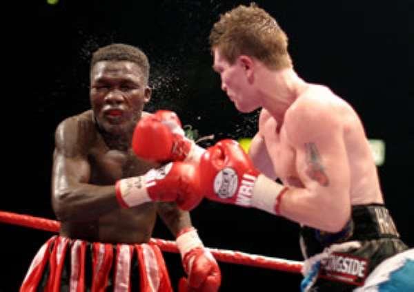 Wonder Tackie Wins By TKO