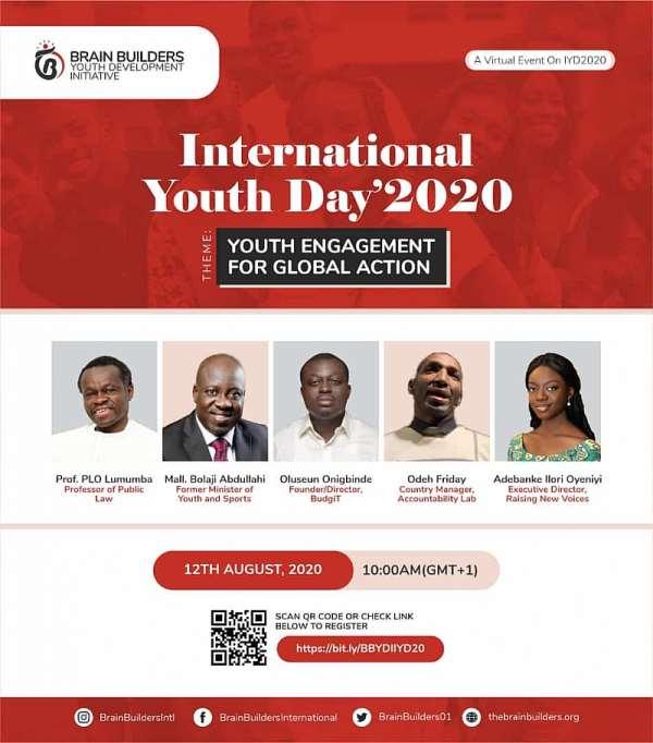 BBYDI To Host 5th Annual International Youth Day Summit