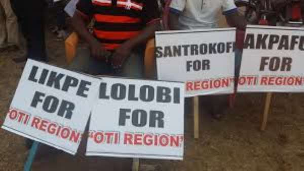 Creation Of New District For Santrokofi, Akpafu, Lolobi And Likpe Ongoing