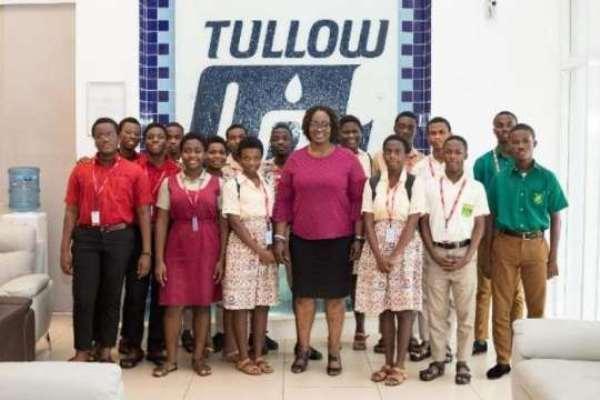 Tullow Ghana Energises Science Education