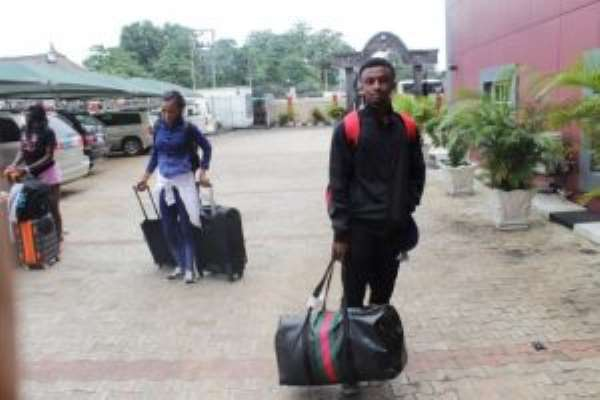 Asaba 2018: Team Ghana Arrives; Trains Ahead Of Competition