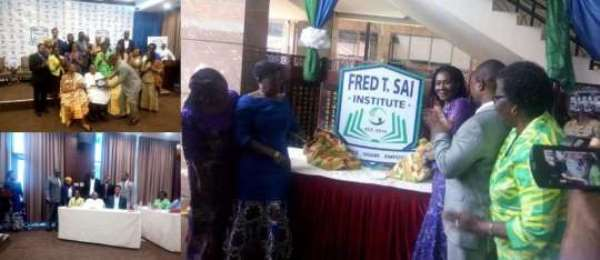 Prof. Fred Sai Honoured By PPAG, IPPF