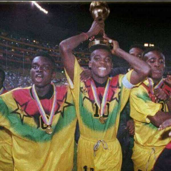Ecuador '95: We Nearly Had A Plane Crash - A Member Of Ghana's U-17 World Cup Winning Team Reveals