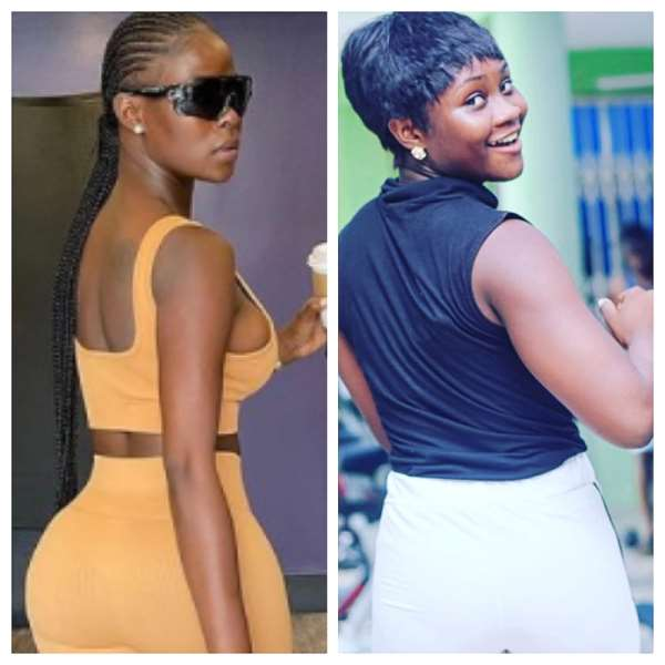 Abena Ampofo and Khloe showcases their curvy backsides in new workout photos