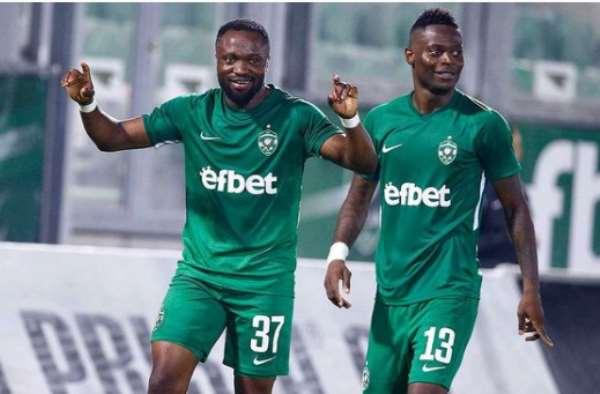 In-form Ghana duo Bernard Tekpetey and Elvis scores to propel Ludogorets to beat CSKA 3-0