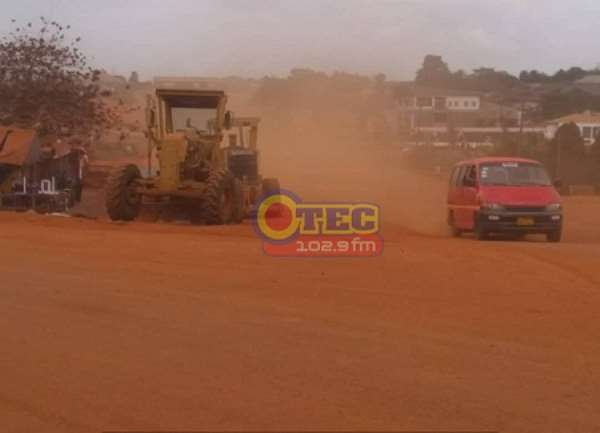 Ashanti Region Roads: Trede–Ahodwo Residents Applaud Contractor For Good Work