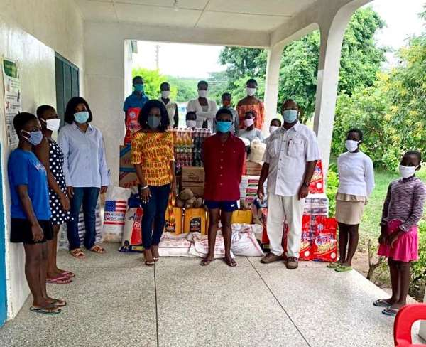 Three Orphanages Receive Support To Fight COVID – 19