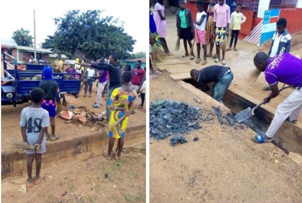 Tano South: Cleanup Exercise Held At Akobro