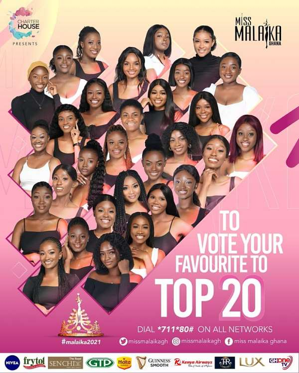 Miss Malaika 21: Who makes it to final 20 as voting codes released