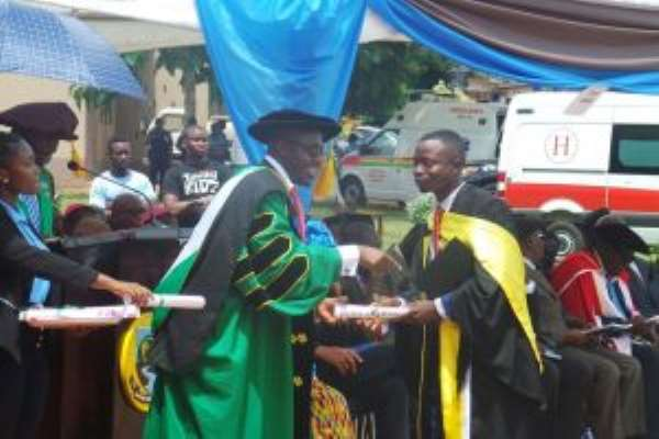 876 Graduates Pass Out At UENR's 3rd Congregation