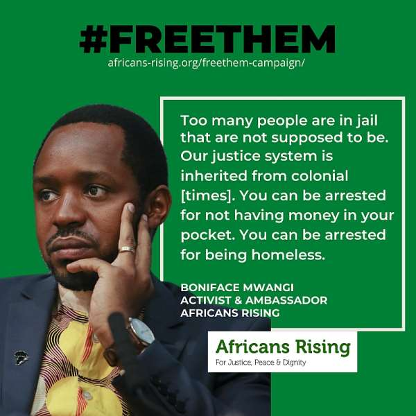 Africans Rising Calls for Release of Incarcerated People Amidst COVID-19 Pandemic