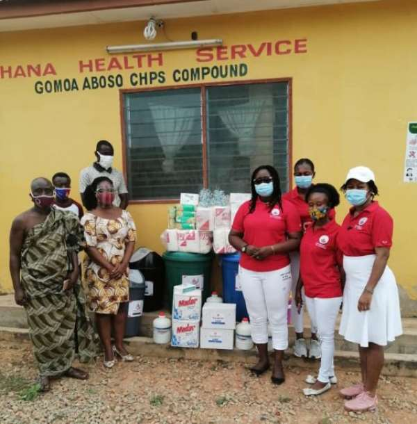 Elite Ladies Fullfills Commitment To The Health Sector In Ghana