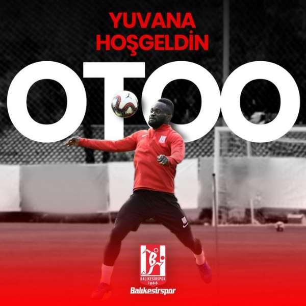 OFFICIAL: Ex-Hearts striker Mahatma Otoo reunites With Turkish club Balıkesirspor Kulübü