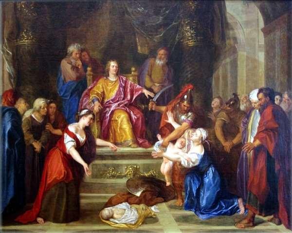 King Solomon Correctly Asked God for Wisdom