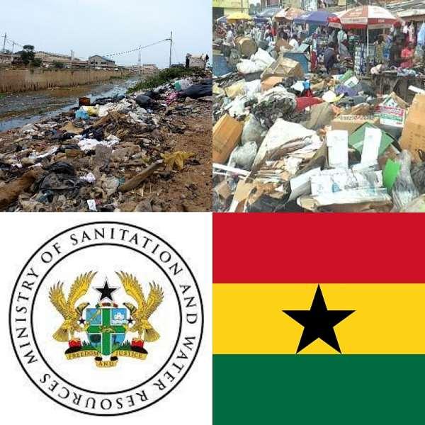 Poor Sanitation Discolouring Ghana's Flag