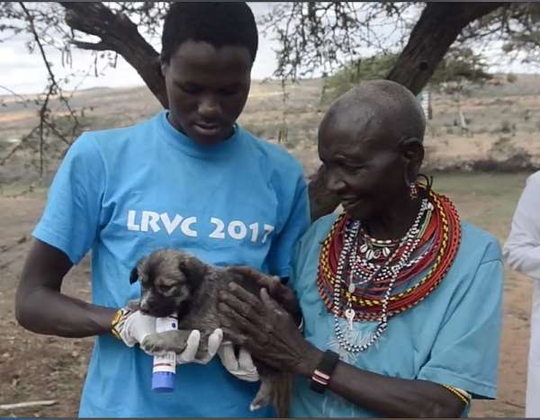 Vaccination campaign roll outs in Laikipia's pastoralist communities. - Source: Laikipia Rabies Vaccination Campaign