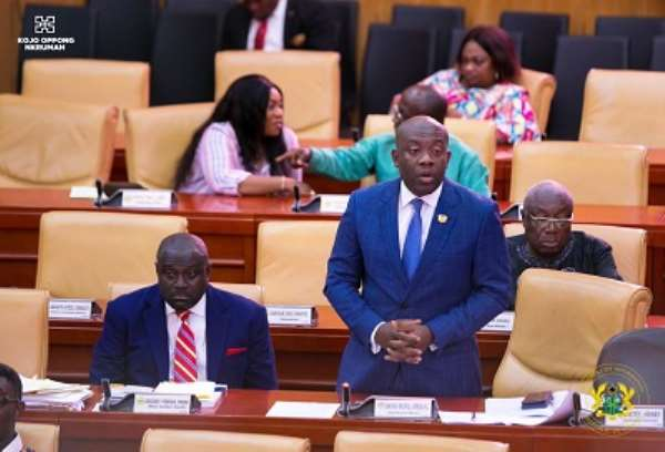 Oppong Nkrumah Runs Away From My 'Papa No' Comment After NDC Grow Wild