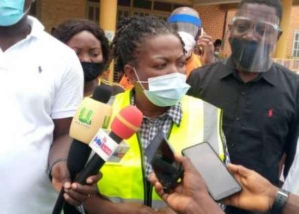 Shiashie Fire: Lydia Alhassan Appeals For Support For Victims
